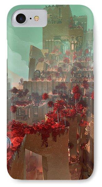 Wonders Hanging Garden Of Babylon IPhone Case