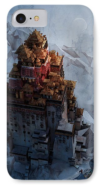 Wonders Holy Temple IPhone Case