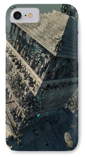 wonders Mausoleum at Halicarnassus IPhone Case