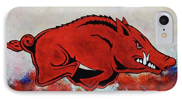 Woo Pig Sooie IPhone 7 Case by Belinda Nagy