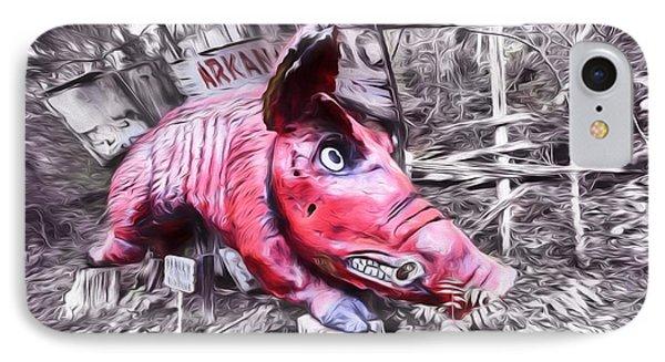 Woo Pig Sooie Digital IPhone 7 Case by JC Findley