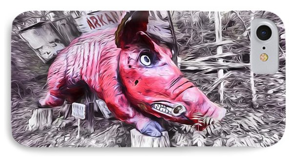 Woo Pig Sooie Digital IPhone Case by JC Findley