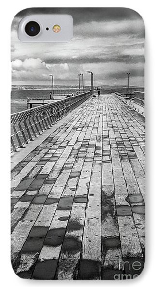 IPhone Case featuring the photograph Wood And Pier by Perry Webster