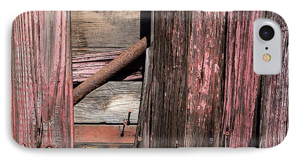 IPhone Case featuring the photograph Wood And Rod by Karol Livote