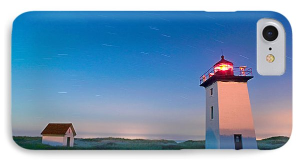 Wood End Lighthouse Provincetown Cape Cod Phone Case by Matt Suess