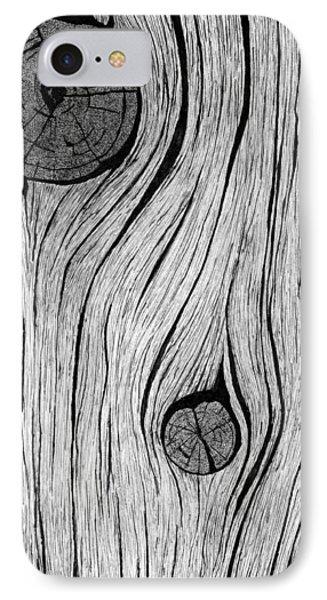Wood Grain 2 IPhone Case by Ed Einboden