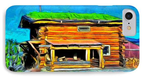 Wood House - Pa IPhone Case