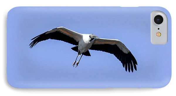 IPhone Case featuring the photograph Wood Stork by Gary Wightman