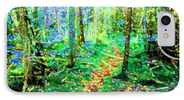 Wooded Trail Phone Case by Dave Martsolf