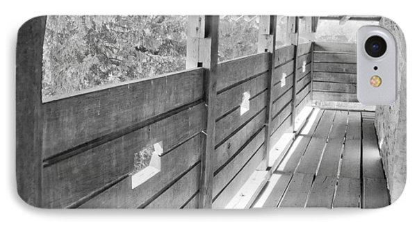 Wooden Balcony Phone Case by Gabriela Insuratelu