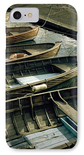 Wooden Boats IPhone Case by Joana Kruse