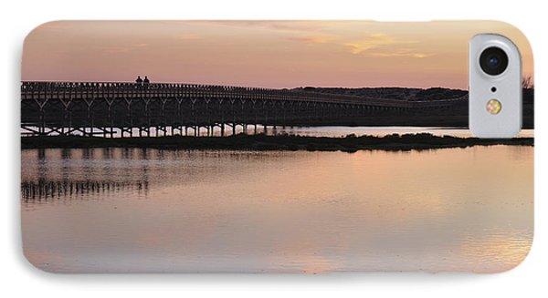 Wooden Bridge And Twilight IPhone Case