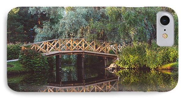IPhone Case featuring the photograph Wooden Bridge by Ari Salmela