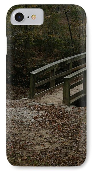 IPhone Case featuring the photograph Wooden Bridge by Kim Henderson