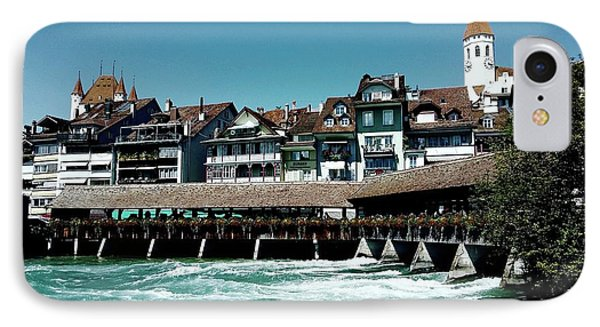 IPhone Case featuring the photograph Wooden Bridge by Mimulux patricia no No