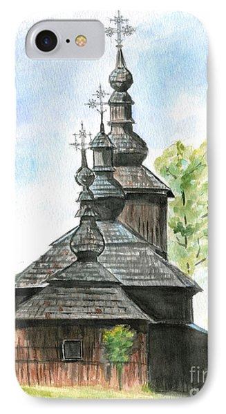 Wooden Church Phone Case by Jana Goode