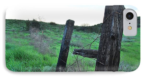 IPhone Case featuring the photograph Wooden Gate In Field by Matt Harang