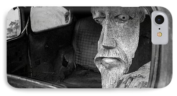 IPhone Case featuring the photograph Wooden Head by Jim Mathis