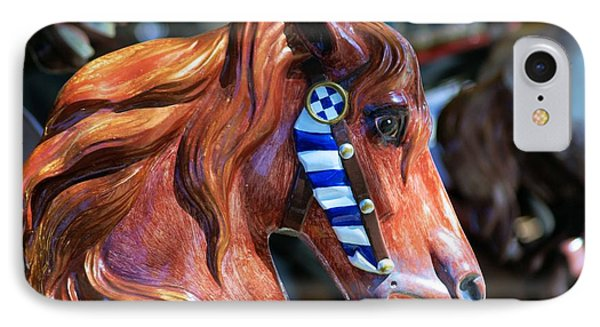 Wooden Horse IPhone Case by John S
