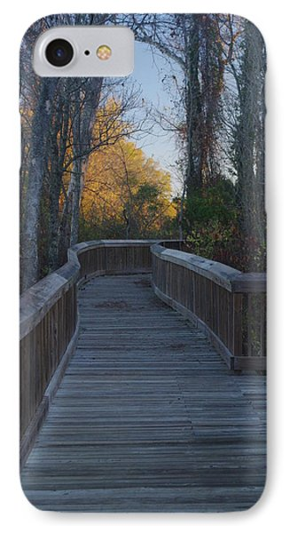 Wooden Path IPhone Case