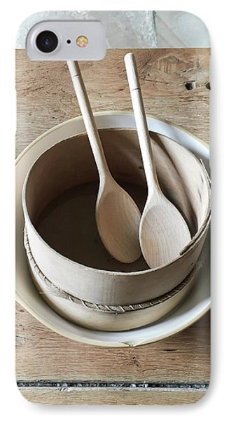 Wooden Spoons IPhone Case by Tom Gowanlock