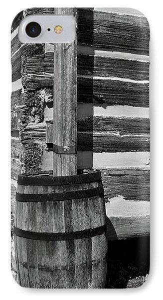 Wooden Water Barrel Phone Case by Douglas Barnett
