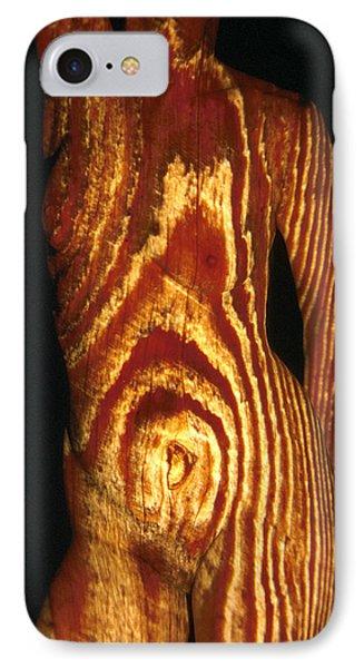 Woodgrain Phone Case by Arla Patch