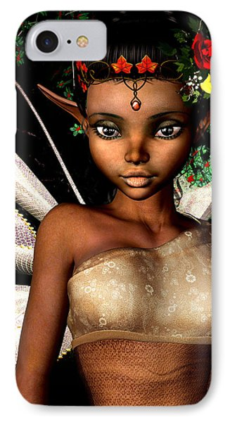 Woodland Fairy  IPhone Case by Alexander Butler