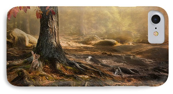 IPhone Case featuring the photograph Woodland Mist by Robin-Lee Vieira