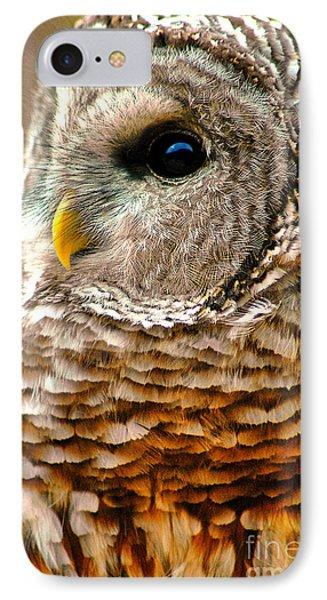 Woodland Owl IPhone Case by Adam Olsen