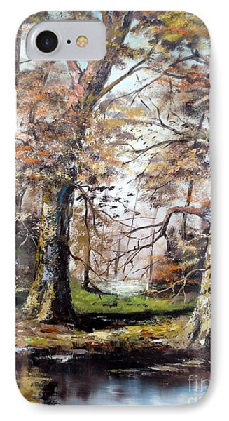 Woodland Pond  Phone Case by Lee Piper