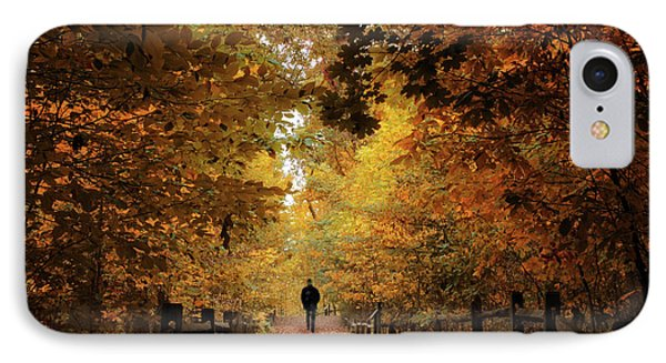 Woodland Promenade IPhone Case
