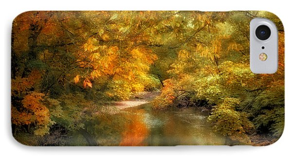 Woodland River Lights IPhone Case by Jessica Jenney