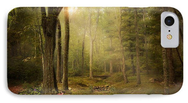 IPhone Case featuring the photograph Woodland by Robin-Lee Vieira