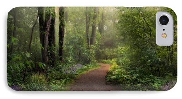 IPhone Case featuring the photograph Woodland Spring by Robin-Lee Vieira