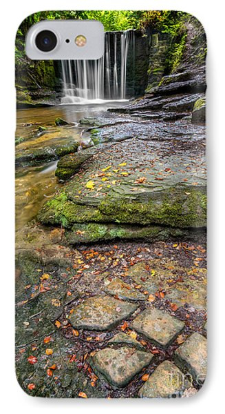 Woodland Waterfall IPhone Case