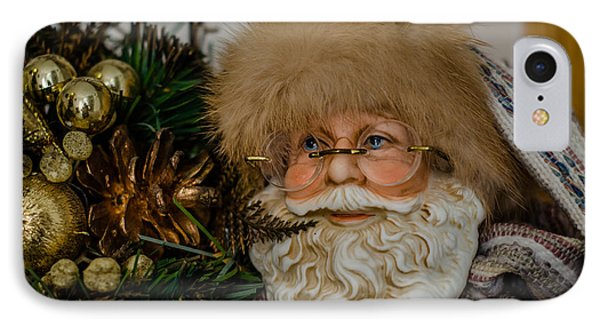 Woodlands Santa IPhone Case