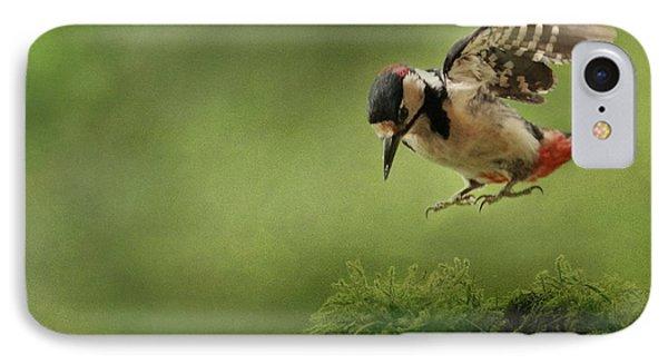 Woodpecker 19 IPhone Case