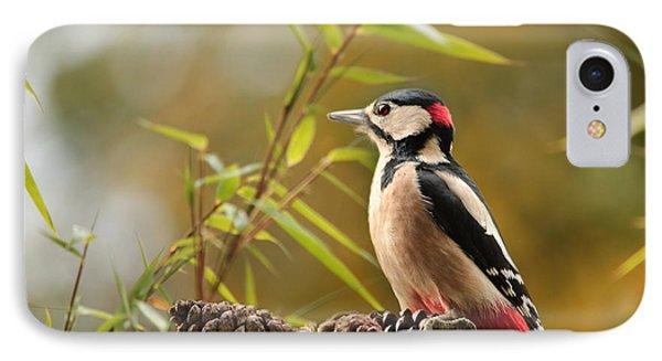 Woodpecker 3 IPhone 7 Case by Heike Hultsch