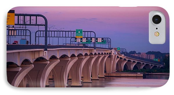 Woodrow Wilson Bridge IPhone Case