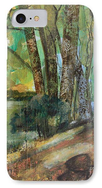 Woods In The Afternoon IPhone Case by Robin Maria Pedrero