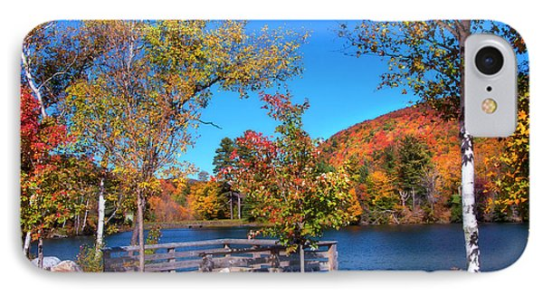 Woodward Reservoir - Plymouth, Vt IPhone Case by Joann Vitali