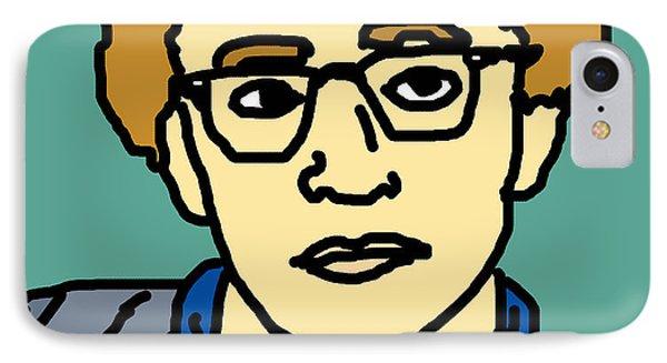 Woody Allen Phone Case by Jera Sky