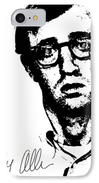 Woody Black N White  IPhone Case