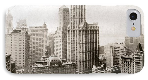 Woolworth Building, 1920s Phone Case by Granger