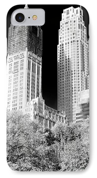Woolworth Shadows IPhone Case by John Rizzuto
