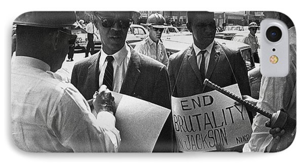 Woolworths Protest, 1963 Phone Case by Granger