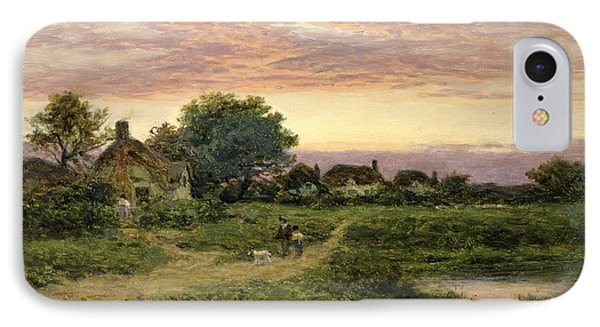 Worcestershire Cottages Phone Case by Benjamin William Leader