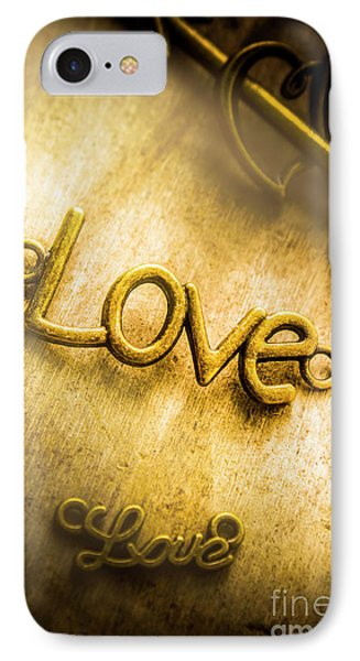 Words And Letters Of Love IPhone Case by Jorgo Photography - Wall Art Gallery