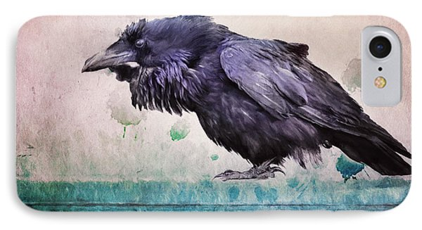 Words Of A Raven IPhone Case